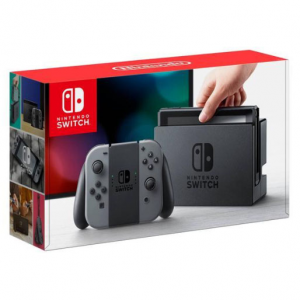 Nintendo Switch 灰色版套装 @ Newegg