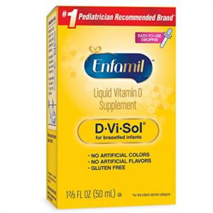 Enfamil D-Vi-Sol 維生素D滴劑 50 ml @ Amazon