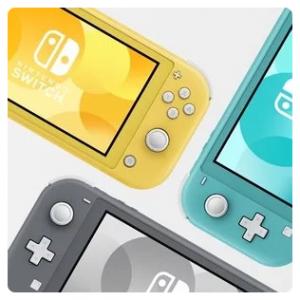 Nintendo Switch Lite 掌上游戏机 三色可选 开始预购 @ Amazon