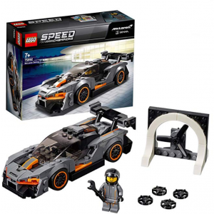 £6.49 For LEGO 75892 Speed Champions McLaren Senna Building Kit, Colourful @Amazon UK
