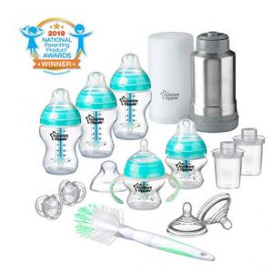 Tommee Tippee Advanced Anti-Colic Newborn Baby Bottle Feeding Gift Set @ Amazon