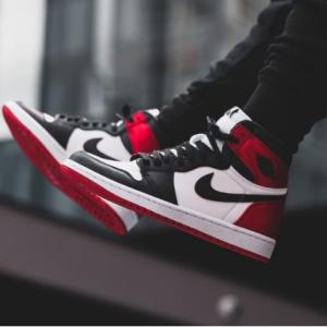 Women's Air Jordan I Black Toe @ Nike
