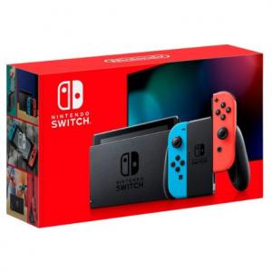 全新续航增强版Nintendo Switch 32GB 红蓝 @ Amazon