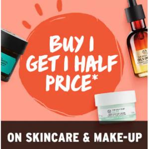 Skincare & Makeup Sale @ The Body Shop UK