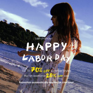 Happy Labor Day Sale @ Maje