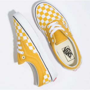 VANS Checkerboard Era Yolk Yellow Womens Shoes Sale @Tilly's
