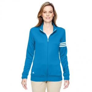 adidas Women's Climalite 3-Stripe Full Zip Jacket @Proozy