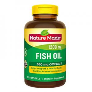 Nature Made 鱼油胶囊 1200 mg 100粒 新包装