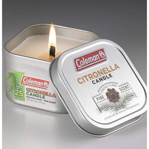 Coleman 香茅防蚊蠟燭 3種香味可選 @Amazon