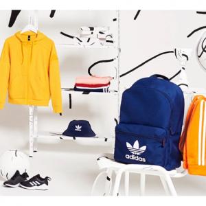 adidas 英國官網返校季大促,精選男女兒童鞋子、夾克、雙肩包等特賣