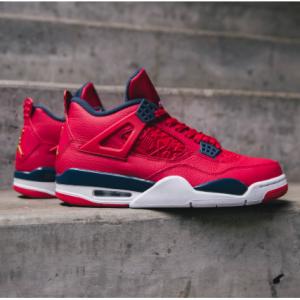 乔丹 Air Jordan 4 Retro SE AJ4 复刻运动鞋 红色 明日可下单 @Nike官网