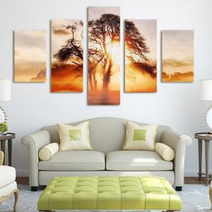 4/5 Pcs Frameless Canvas Prints Pictures @Walmart