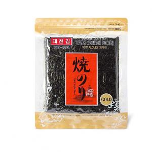Daechun Sushi Nori 紫菜50片 4.41oz @Amazon