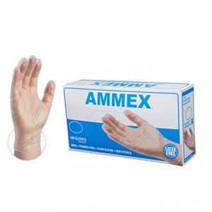 AMMEX 医用级一次性手套 中号 100只 @Amazon