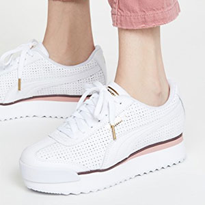 Women's Puma Roma Amor Perf Casual Shoes @ Finish Line