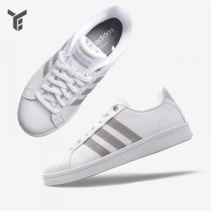 全网最低价:eBay官网 Adidas Cloudfoam Advantage女款小白鞋热卖