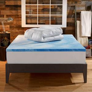 史低价:Sleep Innovations 4-Inch双层记忆棉加厚床垫 Queen尺寸 @Amazon