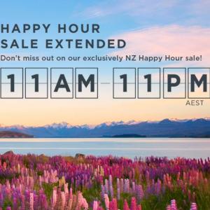 NZ Happy Hour Sale @Virgin Australia