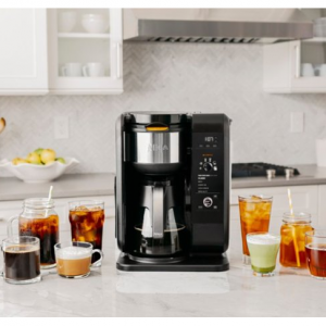 Ninja - Hot and Cold Brewed System 10-Cup Coffee Maker - Black @Best Buy