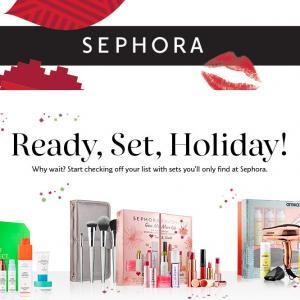 Sephora丝芙兰2019年圣诞限定系列及套装合集