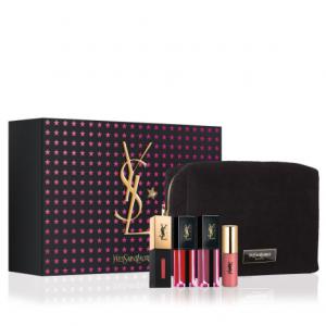 New! Yves Saint Laurent Beaute Holiday Lip Trio @ Neiman Marcus