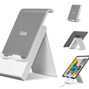 SAIJI可調節手機,平板電腦支架 @ Amazon