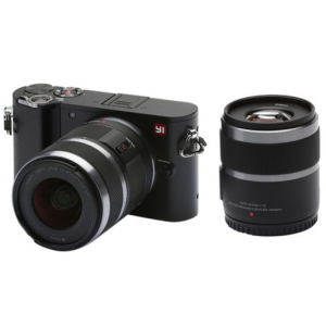 YI M1 4K 20 MP Mirrorless Digital Camera with Interchangeable Lens 12-40mm F3.5-5.6 @ Buydig