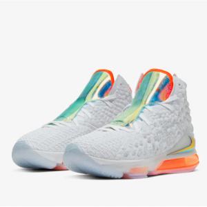 耐克 Nike Lebron 17 詹姆斯17篮球鞋 Future Air 彩虹鞋舌加身