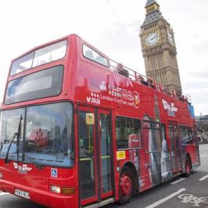 伦敦随上随下观光巴士 日票 @The Original Tour