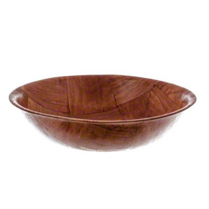 American Metalcraft RWW8 Woven Woodenware Round Shape Bowl, 8-Inch @Amazon