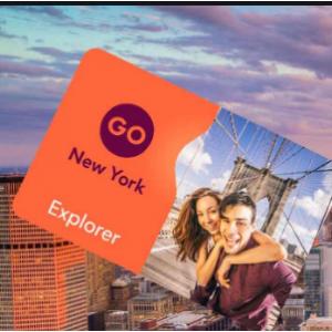 Go City - 黑五大促:纽约探索者通票New York Explorer Pass  5折起