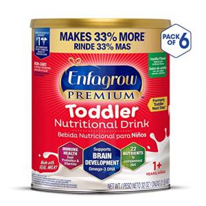 Enfagrow PREMIUM 幼儿配方奶粉, 32盎司 (6罐) @ Amazon