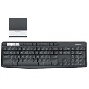 罗技 K375s 多设备无线蓝牙键盘 带手机支架 @ Staples