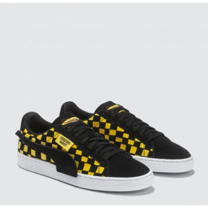 7折热卖,彪马Puma 与Chinatown Market 联名款板鞋,黄黑配色 @HBX