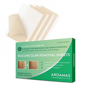 Aroamas Silicone Scar Removal Sheets @ Amazon.com