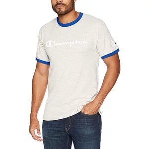 Champion Men's Classic Jersey Graphic Ringer T-Shirt Sale @Amazon.com