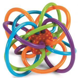 Manhattan Toy Winkel Rattle & Sensory Teether Toy @ Amazon