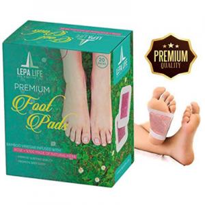 Premium Aromatherapy Rose Foot Pads @ Amazon.com