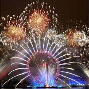 Seetickets - 2019/20倫敦跨年煙花秀,搶藍區最佳觀景點