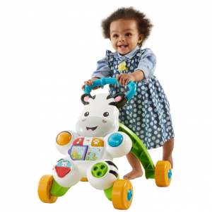 Fisher-Price 兒童斑馬形學步車 @ Target