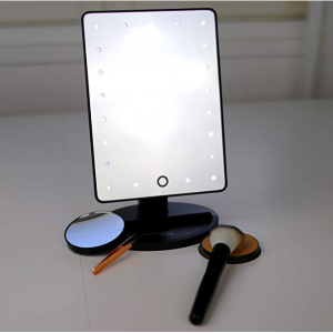 Absolutely Luvly Lighted Makeup Mirror with Magnification @Amazon
