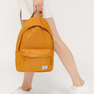 Herschel Supply Co. UO Exclusive Classic Mid-Volume Light Yellow Backpack