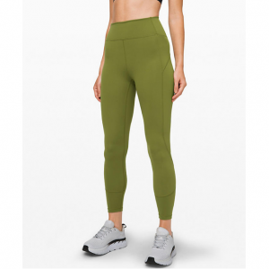 "In Movement Tight 25"" Everlux - Everglades @Lululemon"