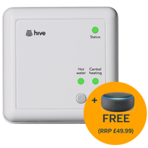 Up to 50% off Hive Active Heating + a FREE Amazon Echo Dot (3rd Gen) @British Gas
