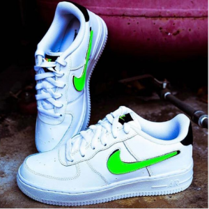 Big Kids' Nike Air Force 1 Lv8 3 Casual Shoes @ Finish Line