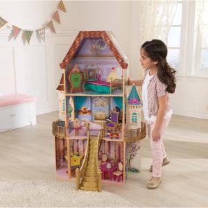 KidKraft 迪士尼公主貝爾娃娃屋,13個配件 @ Walmart