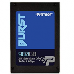 Patriot Memory SSD Burst Series (960GB) for £81.99 & FREE Delivery @Amazon UK