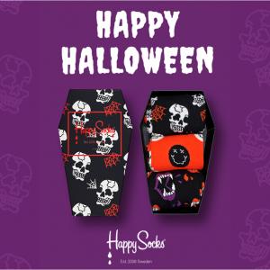 【Happy Socks】2019 Halloween 万圣节新品上架