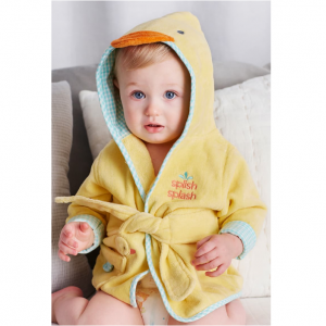 Little Me Kids Velour Hooded Bath Robe Sale @ Nordstrom