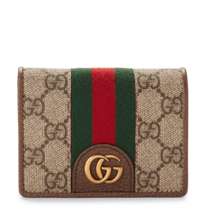 20% OFF GUCCI  Beige GG Three Little Pigs Flap Card Case @Century 21 Department Stores